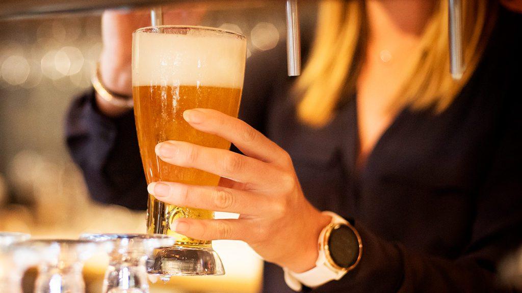 Bier tappen