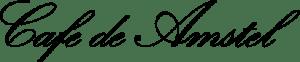 Logo Café de Amstel